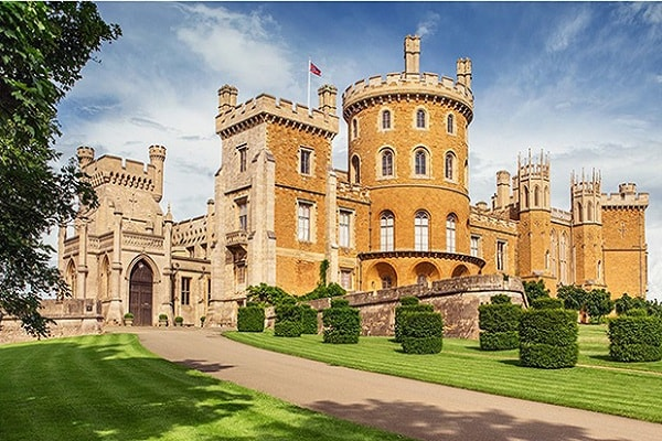 Belvoir Castle in Nottingham