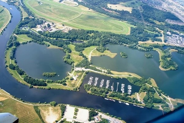 Colwick Country Parks in Nottingham