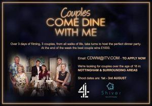 Couples Come Dine With Me Nottingham 2018