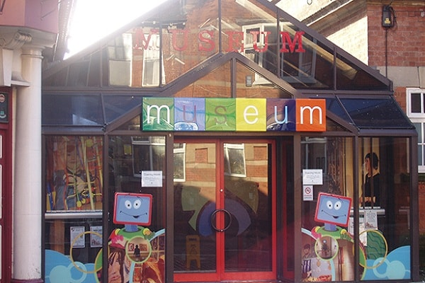 Mansfield Museum in Nottingham
