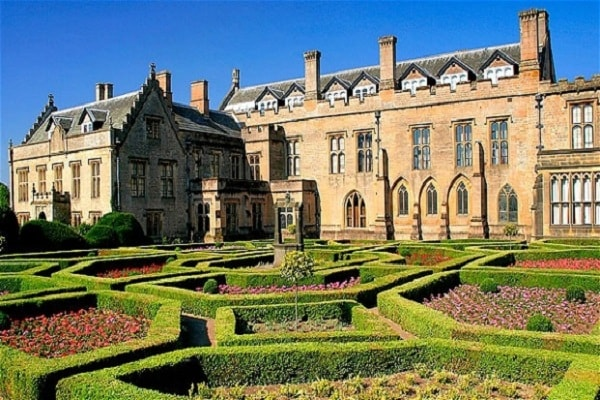 Newstead Abbey in Nottingham