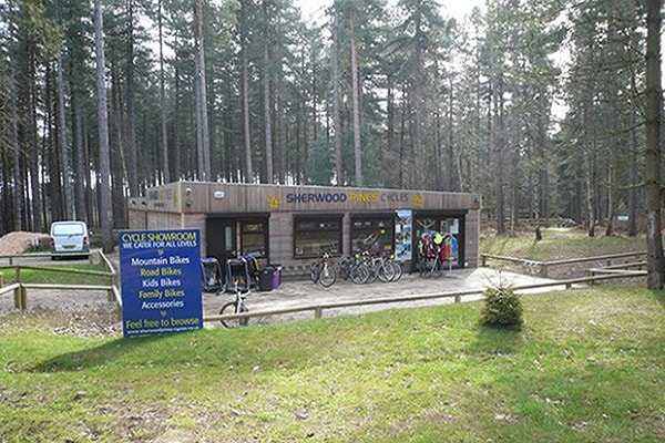 Sherwood Pines Forest Park in Nottingham