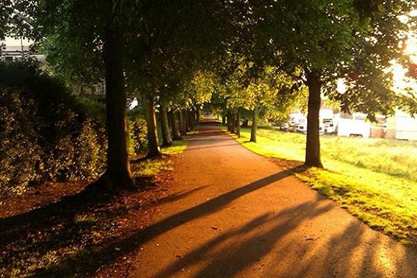 Woodthorpe Thorpe Grange Park in Nottingham