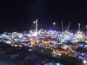 Goose Fair 2018, at the Forest Recreation Ground in Nottingham